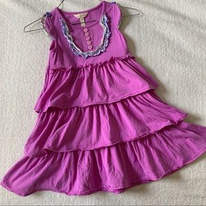 Matilda Jane play condition tiered dress, sz 6
